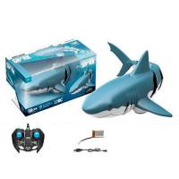 Акула Z102 (24шт) р/у2,4G, аккум, 34см, плавает, USBзар, в кор-ке, 38,5-18-15,5см
