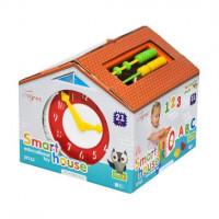 """Іграшка-сортер """"Smart house"""" 21 ел. в коробці 39762 Tigres"""