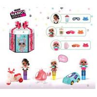 Кукла лол NC2427 (108шт/2) 3вида, в наборе куколка+транспорт+аксессуары, в подарочной коробке