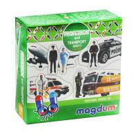 """Набір магнітів """"Професії та транспорт"""" ML4031-31 EN"""
