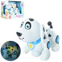 Собака 696-25 (36шт) 20см, ездит, муз, звук, свет, на бат-ке, в кор-ке