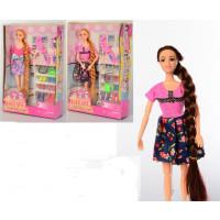 Кукла 622 (30шт) 28см, шарнирн,расческа,зеркало,обувь,сумочка,очки,2вида, в слюде,21-31,5-7,5см