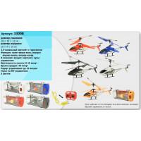 Вертолет 33008 (24шт) гироскоп, аккум, 3-х кан