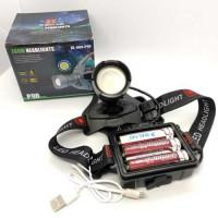 Фонарь налобный светодиодный аккумуляторный, zoom, зарядка от microUSB, BL-009