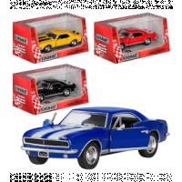 Машинка жел KINSMART KT 5341 W (96шт) инер-я, 1:37, 1967 CHEVROLET CAMARO Z/28, в кор-ке, 15,5-8,