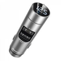 Модулятор Baseus Energy Column MP3 Charger 2USB 3.1A (CCNLZ-0G) Grey