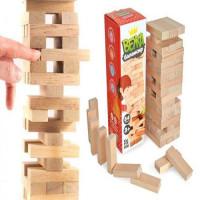 Гра настільна Вежа-балансир, 54 ел. (Дженга),арт 900088