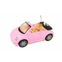 Машина на р\у кабриолет розов WY580A