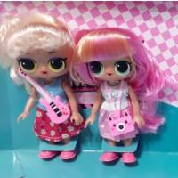 Кукла 8289 (60шт) LOL, 2шт, 16см, аксессуар, 2вида, микс цветов, в кор-ке, 20,5-19,5-5,5см