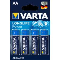 Батарейка VARTA 4906 (LR06) Long Life Power 1X4