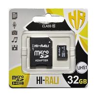 Карта памяті HI-RALI microSDHC 32GB Class 10 no adapter (UHS-3)