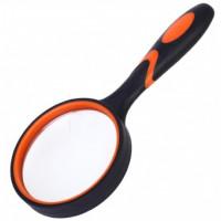 Лупа резиновая диаметр 75 мм, увеличение 6 раз