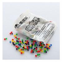 Водяные пульки E12614 (10000шт) 200шт в кульке, 5,5-4см, упакованы в 5связок по 100кульков