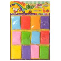 Масса для лепки MK 1085-1 (1200шт) 20г, 12шт(7цветов) на листе, 42,5-29-2см
