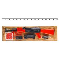 Автомат 251 (18шт) под пистоны,в комплекте:9 пистонов на 8 выстрелов, рация,граната, магазин для авт