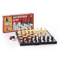 Шахматы 9831 3 в 1 сред. в короб