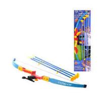 Лук M 0347 U/R (18шт) 74см, прицел, лазер, стрелы на присосках 3шт 56см, на листе, 78-20см