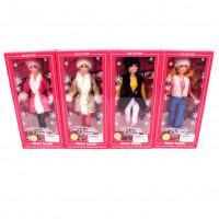 Кукла 9228-B (60шт) шарнирная, 29см, 4вида, в кор-ке, 15-32,5-5см