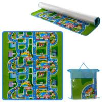 Бэбипол M 5805 (10шт) теплый пол для детей, рисун.одностор, 160-180-0,5см, в сумке, 46-39-11см