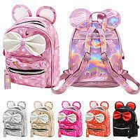 Рюкзак с бантиком и ушками 19*15*9см ST02094 (120шт)