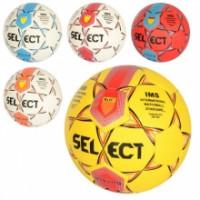 Мяч футбольный MS 2315 (30шт) размер 5, ПУ, 400-420г, 6цветов, в кульке