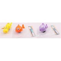 Водоплавающая игрушка 557-8-9 (180шт) 11см, заводная, животное, 3вида, в кульке, 9-15-6см