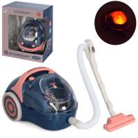 Пылесос YH129-4C (36шт) 14см, звук,свет, пенопластовые шарики, на бат-ке, в кор-ке, 17-20-9,5см