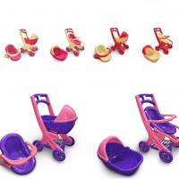"""Дитяча іграшка """"Візок для ляльок"""" артикул 0120/01/02/03/04"""