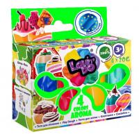 Набір тіста для ліплення ТМ Lovin'Do 4 кольори Арома/41032