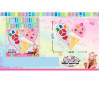 Косметика 1142 (96шт) мороженое, блеск, помада, кисточка, в кор-ке, 20,5-24,5-4,5см