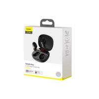 Навушники Baseus Encok True Wireless Earphones WM01 Plus Black