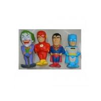 Игрушка MS 2171 (50шт) сквиши, супергерой, 14см, антистресс, 4 вида(BM,CM), в кульке