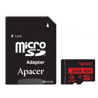 Карта памятi Apacer micro SDHC 32Gb UHS-I Class 10 no ad