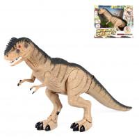 Динозавр RS6125 (36шт) 27см,ходит,зв,св,на бат-ке, в кор-ке, 32-29-9см