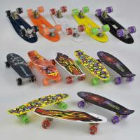 Скейт Пенни борд С 29655 (8) Best Board, 5 видов