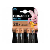 Duracell Батарейка АА \ LR06 MN1500 Ultra, 4шт
