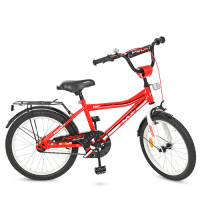Велосипед детский PROF1 20д. Y20105 (1шт) Top Grade, красный,звонок,подножка