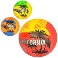 Мяч волейбольный 1121 (30шт) официаль.размер, ПУ,2мм,ручн.работа, 18панелей, 260-280г,3вида,в кульке