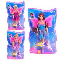 Кукла DEFA 8196 (48шт) с крыльями, 3 вида, свет, в