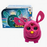 """Інтерактивна іграшка""""Фербі""""(муз.зі сітл.,коробка)JD-4889 р.31*22,4*14см."""