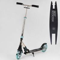 "Самокат алюминиевый ""Best Scooter"" S-10133 (2) колеса PU, d колес 180мм, 1 амортизатор передний, ано"