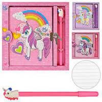 """Блокнот в подар. коробке с ручкой и замочком """"Unicorn"""" А5 50л ST01252 (144шт)"""