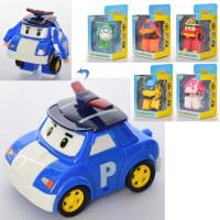 Трансформер 83168-30 (96шт) RP, 10см, робот+транспорт, 6 видов, в кор-ке,11-19-9,5см