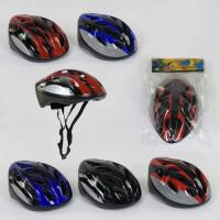 Шлем защитный B 31985 (40) 4 цвета, в кульке