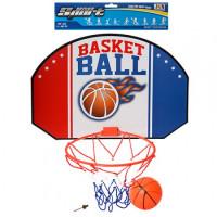 Баскетбольное кольцо M 2692 (36шт) щит42,5-29см(картон),кольцо23,5см(пластик),мяч,в кульке,29-50-3см
