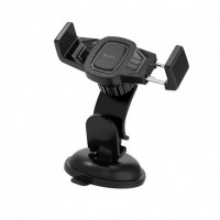 Автотримач для мобільного телефону Hoco CA40 Refined (Черный)