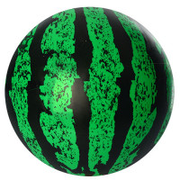 Мяч детский MS 0927-2 (120шт) 9 дюймов, арбуз, ПВХ, 75г