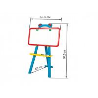 Мольберт 2-х сторон., магнит., 3-х ног., мел, маркерKW-51-001(3шт/уп)