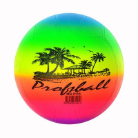 """Мяч детский-8,5"""" MS 0116 (100шт) волейбол радуга, 250гр"""