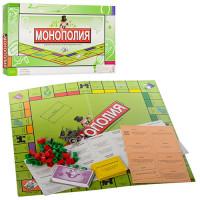 Настольная игра 2030R (72шт) Монополия,игров.поле42-42см,фишки,карточки,в кор-ке, 43,5-22-3см